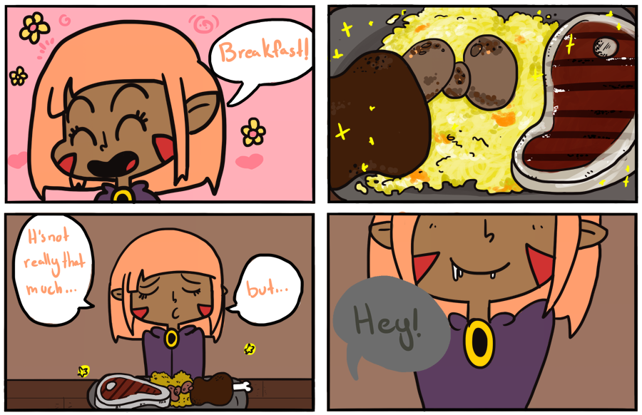 1: A glutton